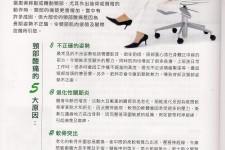 不良工作姿勢是肩頸痛症元兇