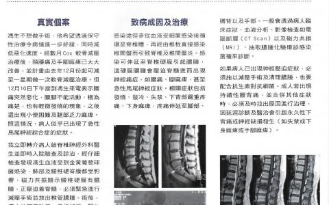 細箘感染性脊椎及椎間盤炎